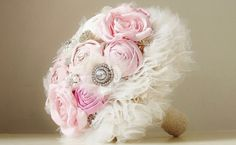 Brooch Wedding Bouquet Vintage Bridal Bouquet by bouquets4love, $280.00