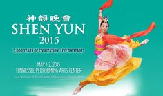 Nashville Events TPAC: Shen Yun Performing Arts presents classical Chinese dance and music in a lavishly colorful and exhilarating show. Fun things to do in Nashville.   #show #dance #Nashville #event