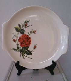 Vintage 1960's Salem China American Beauty by TheDowntownCurio, $10.00