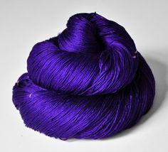 Memory of a fearsome tale  Silk Lace Yarn di DyeForYarn su Etsy