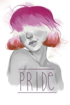 YA LIKE? YA LIKE? Pride Portraits by Peixel http://danshing-yehet.tumblr.com/post/145578552844/all-of-my-current-pride-doodles-for-pride-month