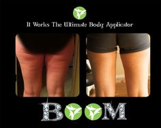 my before and afters.  Wrapping every Sunday and Wednesday for 3.5 months!!  It Works!!!  janafreels.myitworks.com