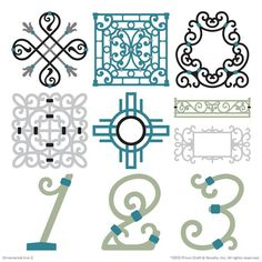 Cricut® Ornamental Iron 2 cartridge for Expressions 2