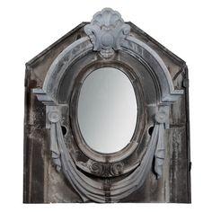 Neo Classical Style Zinc Window Mirror: