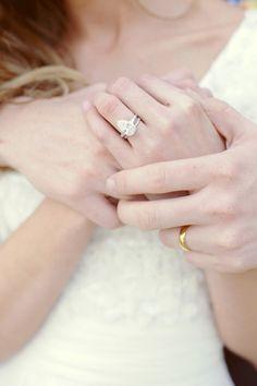 oh that ring.  pear-cut diamond.