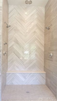 Final Day of Inspiration from the Parade of Homes! Interceramic ~ Diano Reale tile Tulsa Parade of H House Bathroom, Master Shower, Bathroom Renos, Home, Dream Bathrooms, Bathroom Remodel Master, Home Remodeling, New Homes, Bathroom Renovation