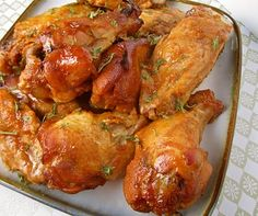 Sweet and Spicy Crockpot Chicken Wings