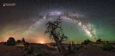 To Capture the Milky Way, Capture the Landscape