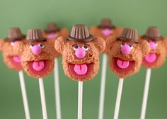 Cakepop do Fozzy!