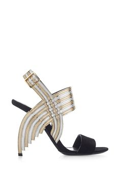Lenny Sandal by Salvatore Ferragamo for Preorder on Moda Operandi