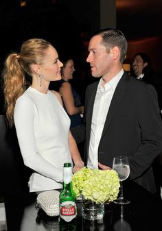 Kate Bosworth and Michael Polish at the annual Hammer Museum Gala in the Garden