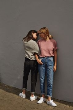 DENIM DAZED WITH UO  Joanna & Sarah Halpin shot by Drew Wheeler