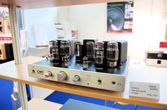 Cary Audio's tube integrated amplifier at the 2012 High End Munich Show with our Distributor in Germany, Input Audio Dj Sound, Headphone Amp, High End Audio, Tube, Germany, Warm, Collection, Musik, Deutsch