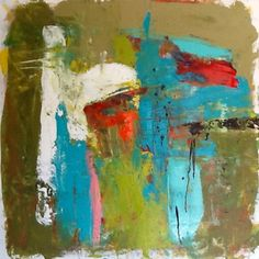 Abstract painting by W Joe Adams 24x24