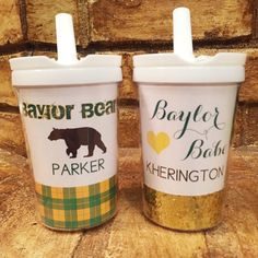 Baylor Bears kid's tumbler // ADORABLE. #SicEm