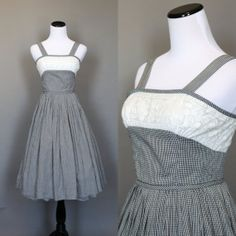 Hey, I found this really awesome Etsy listing at https://www.etsy.com/listing/188726226/1950s-summer-dress-vintage-sundress
