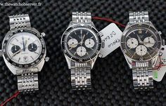@thewatchobserver - A great Autavia trio! #Heuer #tagheuer #heuercollectorsummit