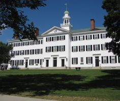 Considering Dartmouth? Check Out This Admissions Data: Dartmouth Hall at Dartmouth University
