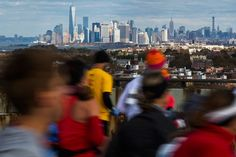 Great photo of the New York City Marathon 2014 #Skyline #NYC #TCSNYCMarathon