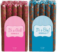 It's a Girl & It's a Boy No. 59 Factory Throwouts Cigars by J.C. Newman Cigar Co - Bundle of 20 Sungrown