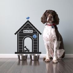 Dog House Vinyl Wall Decal Sticker Size Small by graphicspaces, $30.00