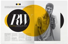 captivating colour selection on the page, draws your attention immediately, well constructed page layout with not too much going on to distract readers.
