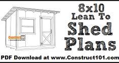 Planter Box Plans, Garden Bench Plans, Pergola Plans, Greenhouse Plans, Lean To Shed Plans, Wood Shed Plans, Coop Plans, Diy Storage Shed, Diy Shed