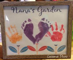 Nana Gift Gifts for Nana from Grandkids Personalized Gift From Kids INSTANT Down. - Stylist and Craft ideas - Pin this boardm - Help the street animals. Grandma Crafts, Grandparents Day Crafts, Homemade Mothers Day Gifts, Mothers Day Gifts From Daughter, Mothers Day Crafts For Kids, Diy Gifts For Kids, Fathers Day Crafts, Grandparent Gifts, Mothers Day Cards
