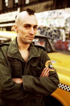 Robert De Niro as Travis in Taxi Driver