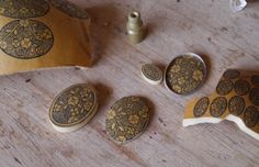 Gourd Art - Mixing Silver Jewelry With Etched Gourd - Mosaic