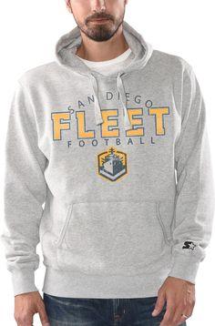 G-III Men's San Diego Fleet Freshman Grey Hoodie Go Navy, Freshman, Grey Hoodie, Hoodies, Sweatshirts, Sd, San Diego, Football, Gray
