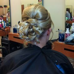 Updo for prom Formal Hairstyles, Bride Hairstyles, Hairdos, Updos, Up Styles, Long Hair Styles, Pageant Hair, Dream Hair, Bump