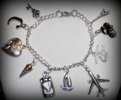 50 Fifty Shades of Grey Darker Freed Christian Anastasia Sexy Charm Bracelet Jewelry