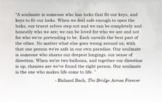 The Bridge Across Forever And More Quotes Pinterest Wedding Readings