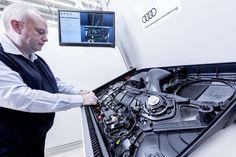 Magas technológia az Audi gyártásban