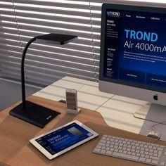 TROND Desk Lamps with Sleek Design