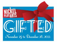 """Nickel Plate Arts will be open on BLACK FRIDAY!  Kick start your holiday shopping away from the noisy malls with our exhibit of purchasable unique arts & crafts by over 40 """"Gifted"""" Hamilton County artists.  Perfect presents available at all price points. The Judge Stone House Gallery will be open from Noon-5 pm on Friday, November 29."""