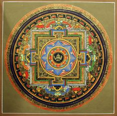 Tibetan Mandala Thangka Paintings