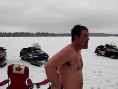 This is Canada eh!!!  Ice Fishing Crazy Canucks Insane Fisherman...