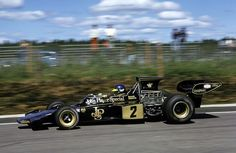 Ronnie Peterson (SWE) (John Player Special Team Lotus), Lotus 72E Anderstorp, 1973.