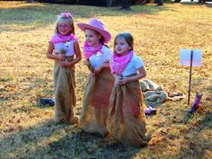 Sack Races - great birthday party ideas!