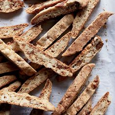Buttery Hazelnut-Fig Biscotti   When the Vermont bakery Vergennes Laundry is closed, co-owner Julianne Jones uses the residual heat in the wood-burning oven to bake biscotti.