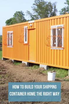 Shipping containers 298433912807985116 - Our recommendations on steps to take and best practices to use when designing and building your dream shipping container home Source by DiscoverContainers Storage Container Homes, Building A Container Home, Container Cabin, Container Buildings, Cargo Container, Container House Design, Tiny House Design, Container Garden, Shipping Container Home Designs