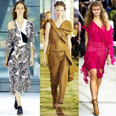 2. The Shoulders (Still) Have It - As seen at Preen by Thornton Bregazzi, Simone Rocha and Marques Alameida the shoulder-baring trend of NYFW continued in London.