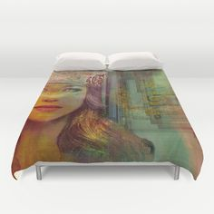 Ishtar Duvet Cover. Cover yourself in creativity with our ultra soft microfiber duvet covers. Hand sewn and meticulously crafted, these lightweight duvet covers vividly…