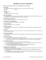 Rental Amp Lease Application Forms