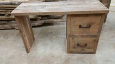 YOUR Custom Made Rustic Barn Wood Desk or Make up Cabinet Free Shipping by timelessjourney on Etsy https://www.etsy.com/listing/259934932/your-custom-made-rustic-barn-wood-desk
