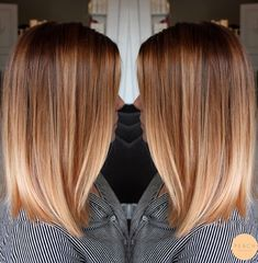 Lob Haare mit weichem Ombre in Kupferblond / Roséblond … – … Praise hair with soft ombre in copper blonde / rose blonde … – # … – # Check more at … Blond Rose, Strawberry Blonde Hair Color, Ombre Hair Color, Strawberry Hair, Copper Balayage, Balayage Hair Blonde, Brown Blonde Hair, Copper Ombre, Brunette Hair