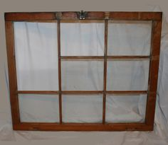 Just scored this at a local antique store, an old window frame measuring approx. 3' x 2.75'.....my mind is buzzing with ideas....