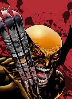 #Hulk #Fan #Art. (Wolverine and Hulk) By: Firepunk626. (THE * 5 * STÅR * ÅWARD * OF: * AW YEAH, IT'S MAJOR ÅWESOMENESS!!!™)[THANK Ü 4 PINNING<·><]<©>ÅÅÅ+(OB4E)   https://s-media-cache-ak0.pinimg.com/474x/85/a7/a6/85a7a66e7e3e274ba237a85730aa19aa.jpg